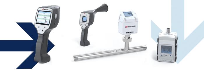 Leckagesuchgerät, Durchflussmengenmesser, Differenzdruck-Durchflussmesser